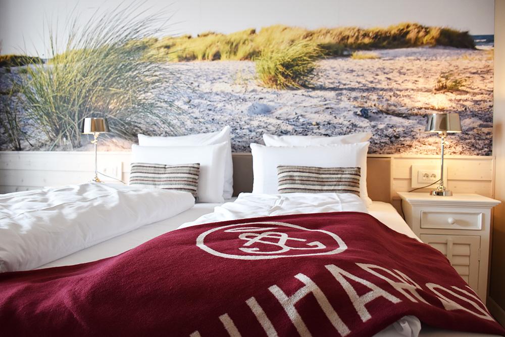 Beach Motel Heiligenhafen Schlafzimmer
