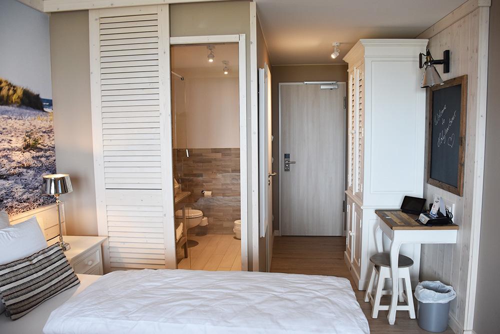 Beach Motel Heiligenhafen Zimmer und Bad