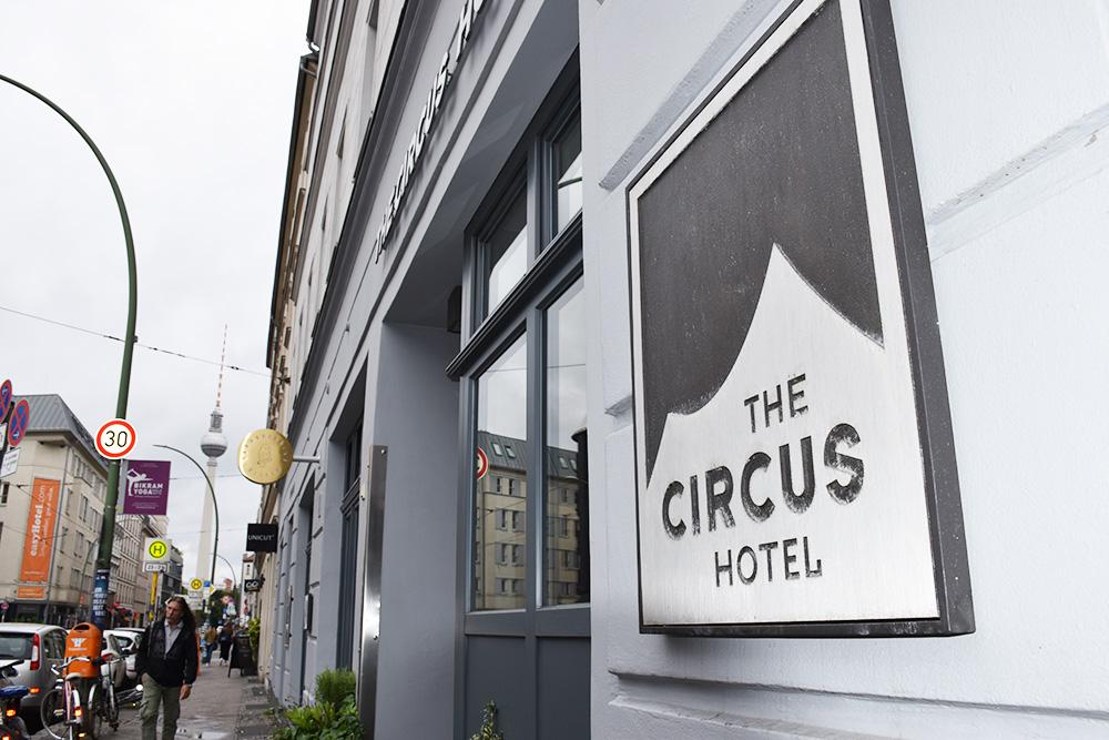 Circus Hotel Berlin Mitte beim Rosenthaler Platz