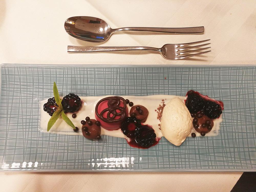 Gorfion das Familienhotel Dessert zum Abendessen