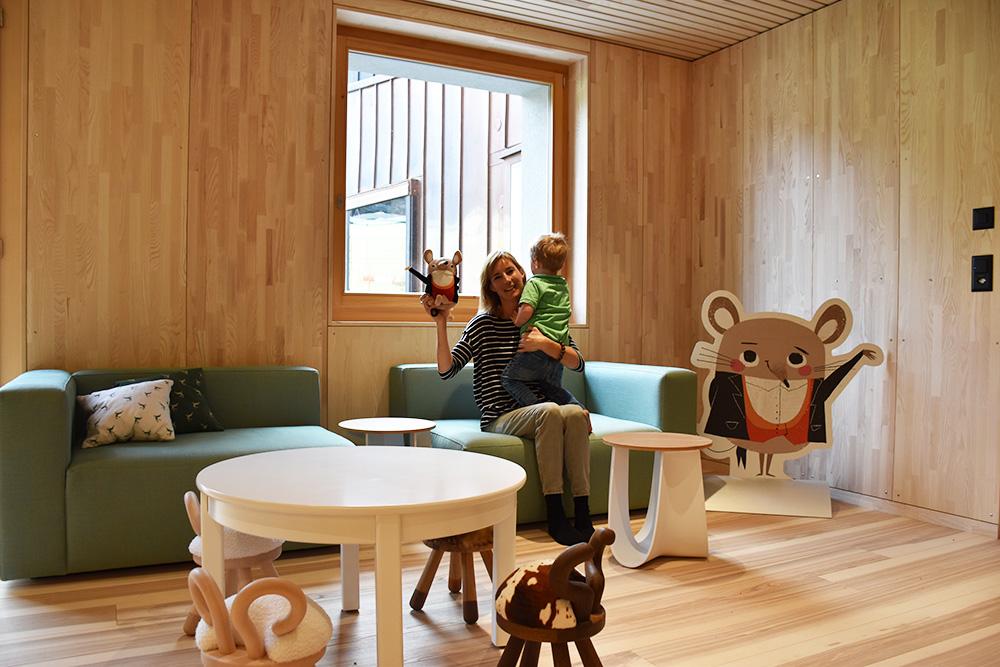Gorfion das Familienhotel Travel Sisi mit kleinem Globetrotter in der Kinderwelt
