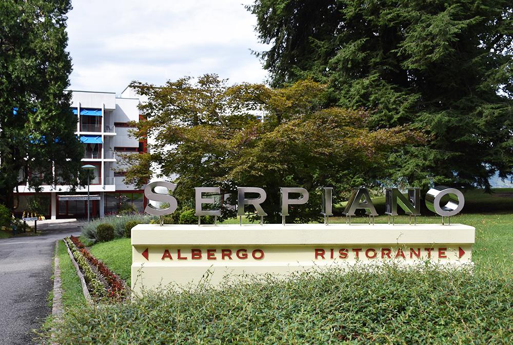 Hotel Serpiano Aussenansicht