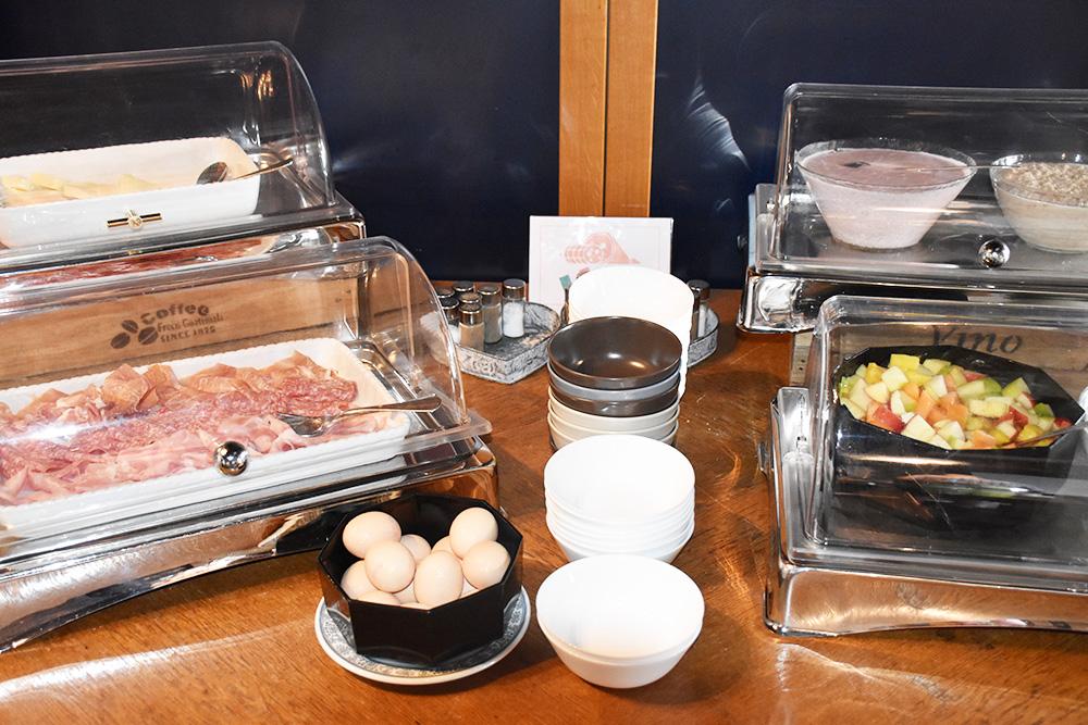Hotel Serpiano Auswahl zum Frühstück