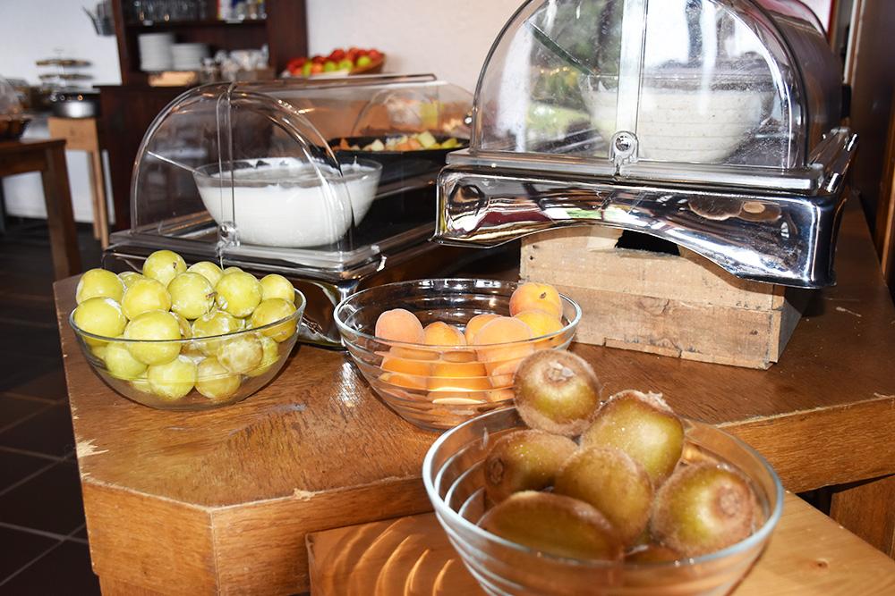 Hotel Serpiano Früchte zum Frühstück
