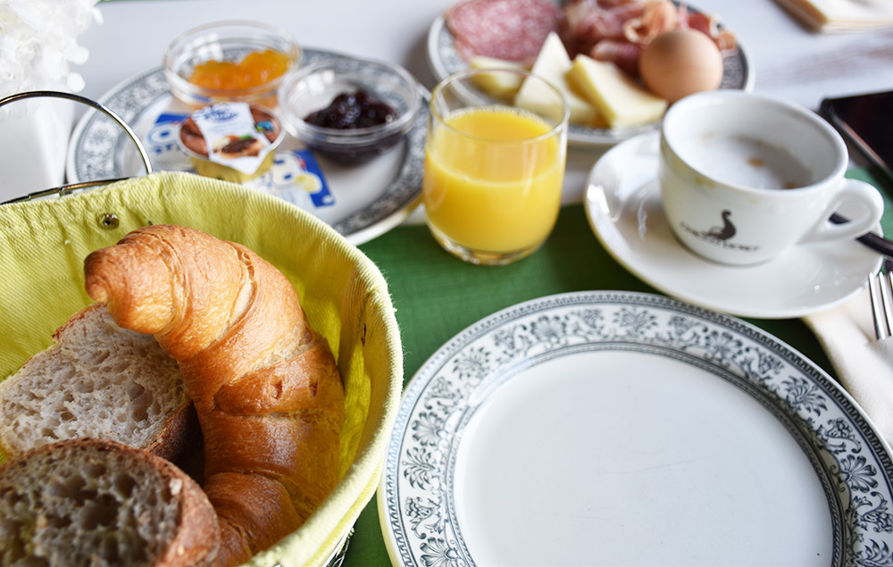 Hotel Serpiano leckere Auswahl vom Frühstücksbuffet