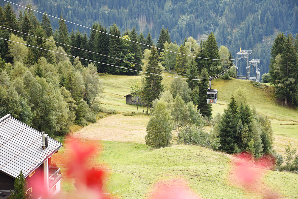 Panoramagasthof Kristberg Abreise mit der Gondelbahn