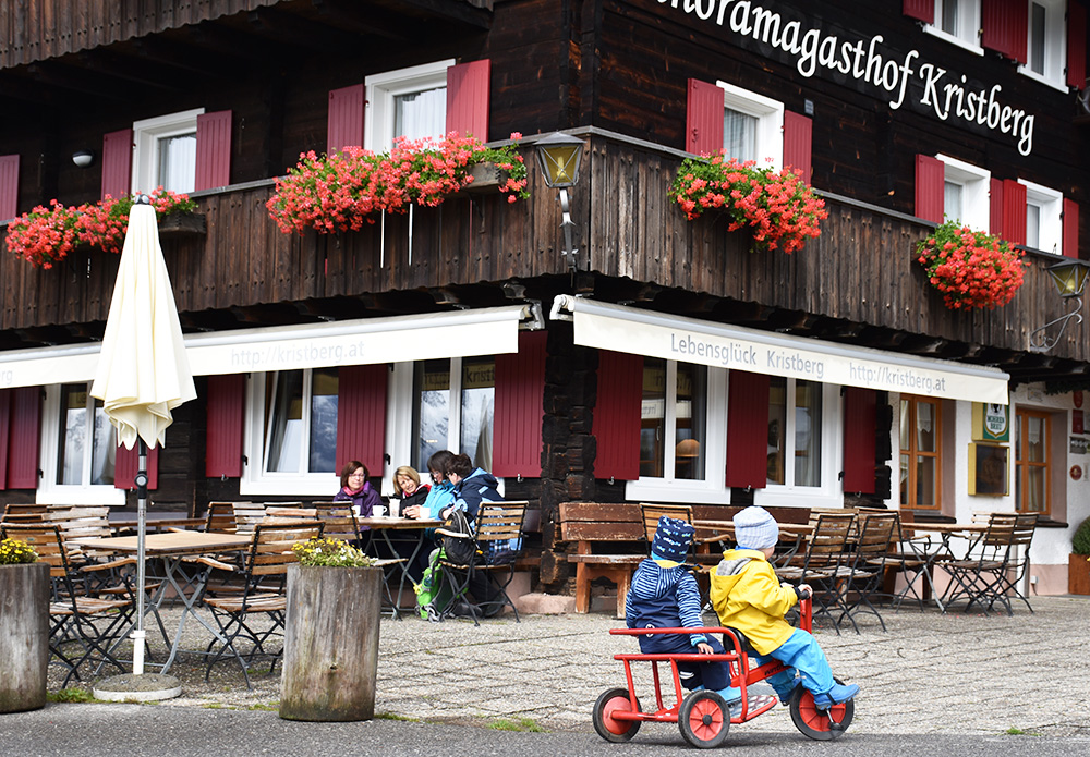 Panoramagasthof Kristberg Dreiräder für Kleinkinder