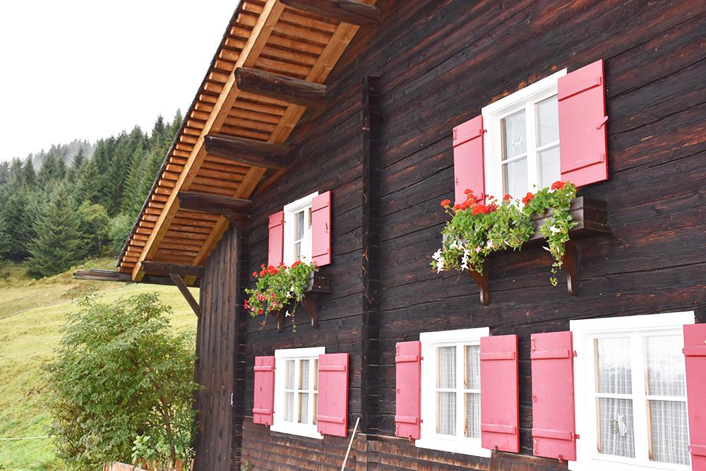 Panoramagasthof Kristberg hübsches Chalet