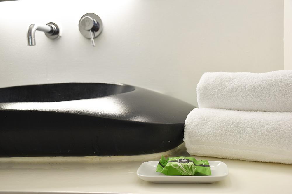 Ekies All Senses Resort Badezimmer