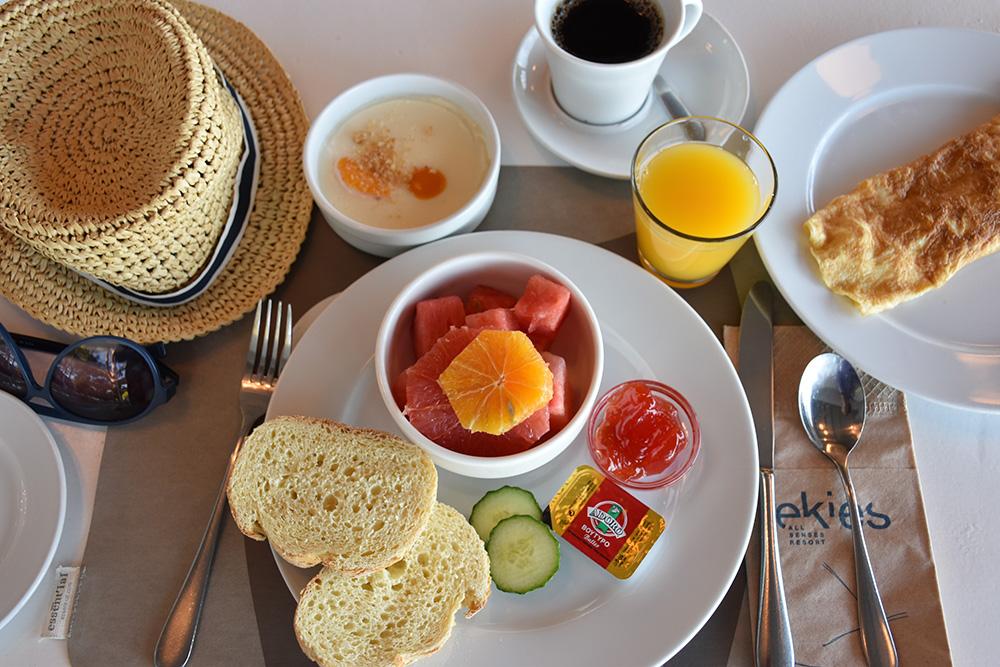 Ekies All Senses Resort Frühstück