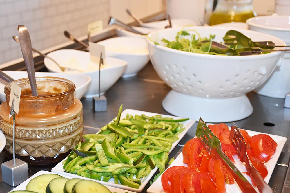 Ekies All Senses Resort Gemüse zum Frühstück