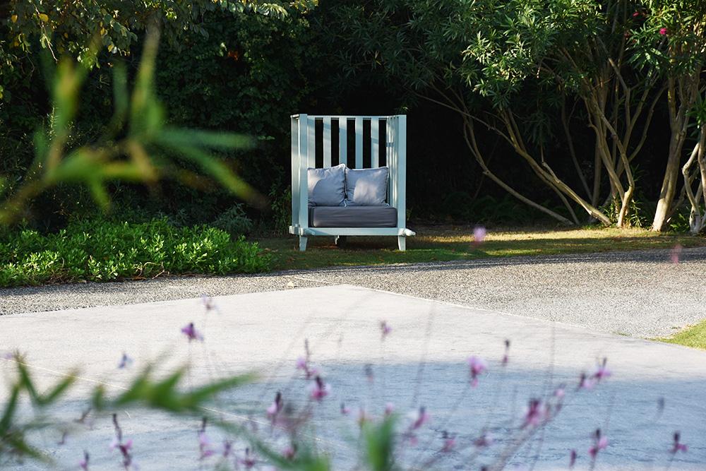 Ekies All Senses Resort Lieblingsplatz im Garten