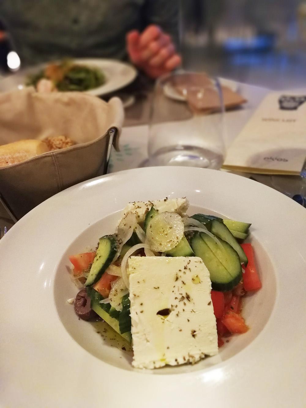 Ekies All Senses Resort griechischer Salat