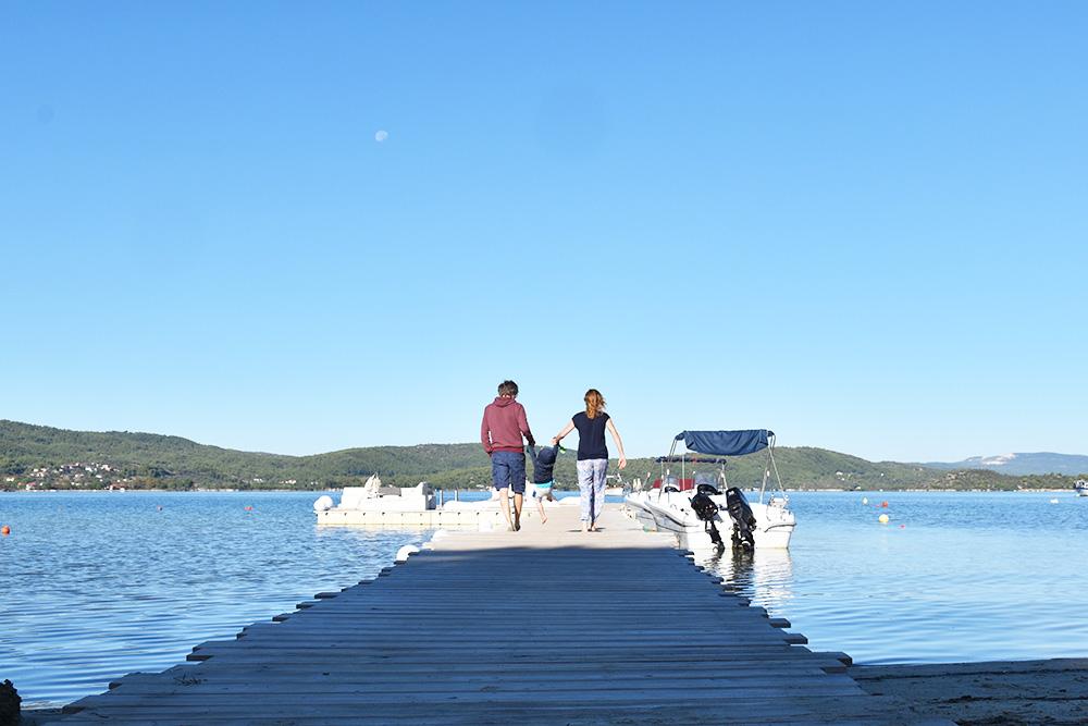 Reisen mit Kleinkind als Familie unterwegs in Chalkidiki