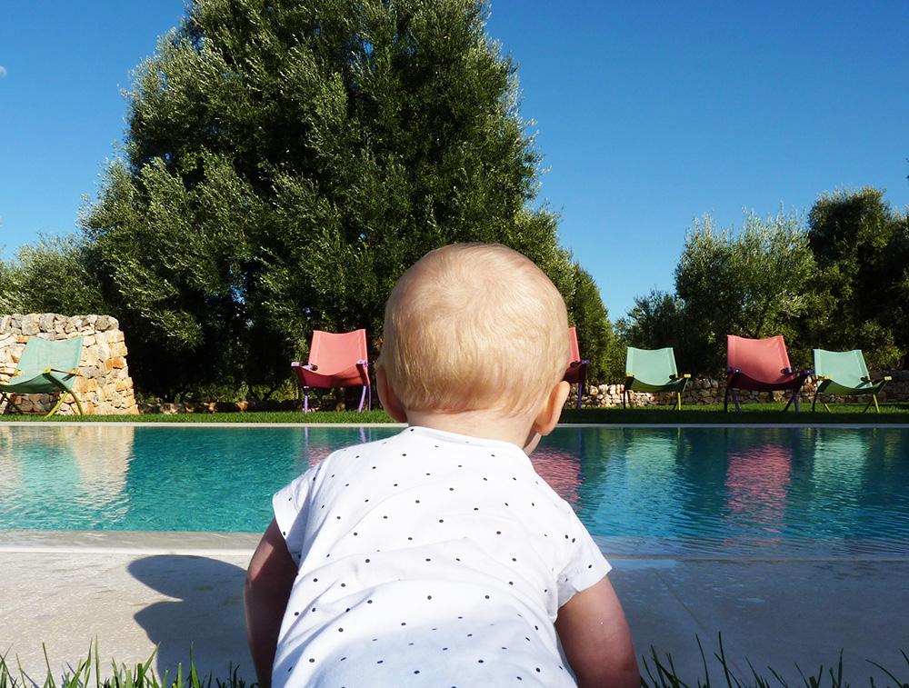 Reisen mit Kleinkind im Designerhotel in Apulien
