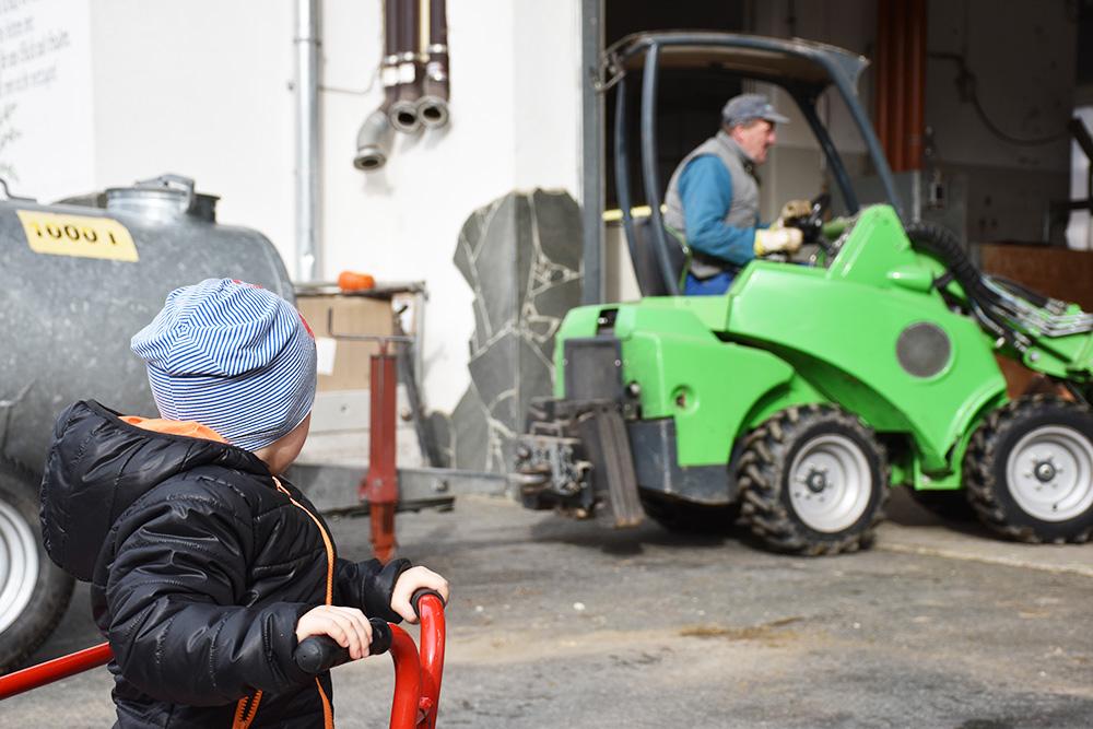 Familotel Landgut Furtherwirt Bauernhof hautnah erleben