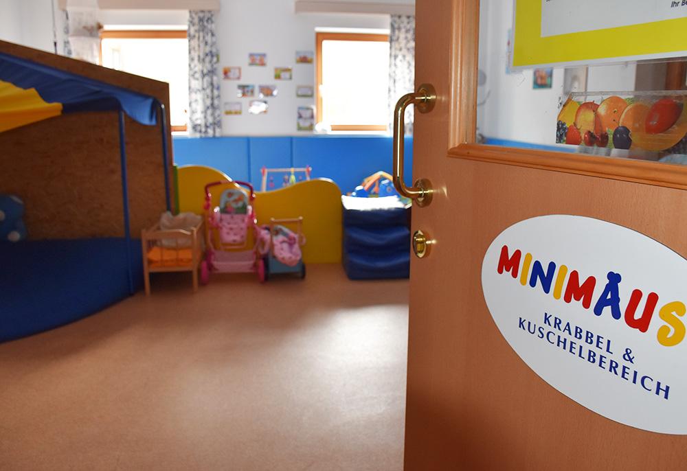 Familotel Landgut Furtherwirt Betreuungsraum für Babys