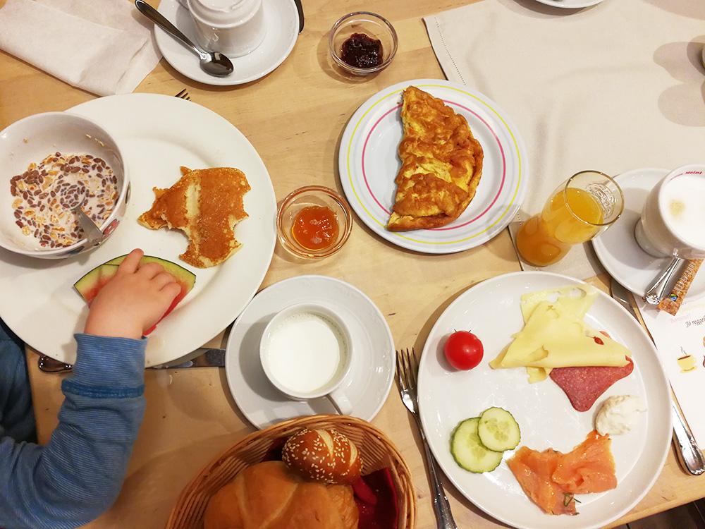 Familotel Landgut Furtherwirt Frühstücksbuffet