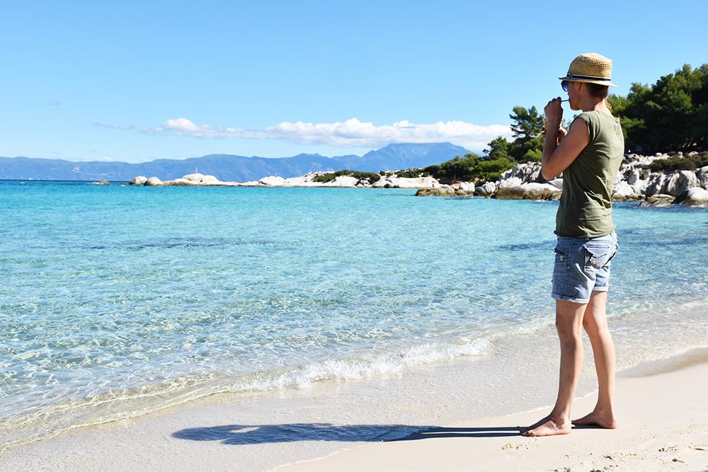 Reisetipps Chalkidiki Travel Sisi am Orange Beach