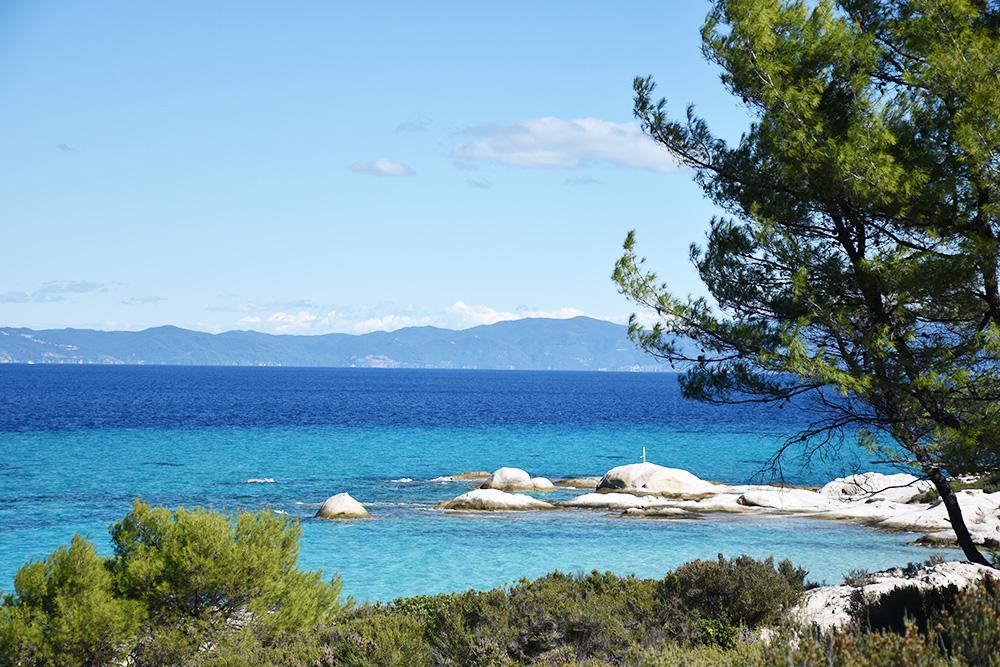 Reisetipps Chalkidiki auf dem Weg zum Orange Beach