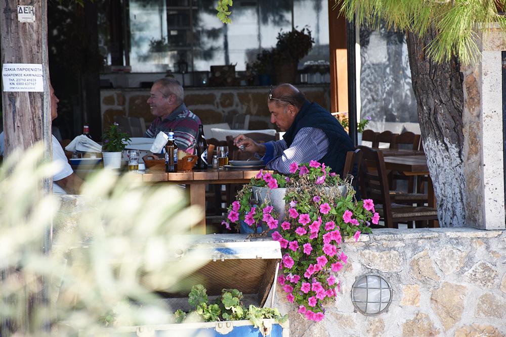 Reisetipps Chalkidiki griechische Tavernen