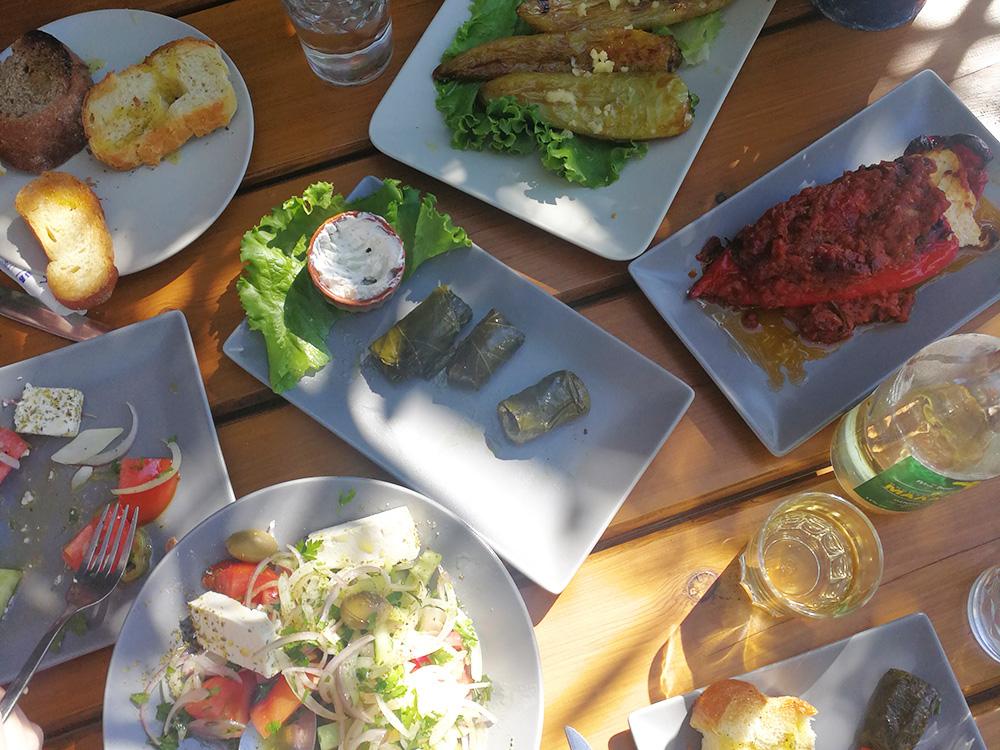 Reisetipps Chalkidiki griechisches Essen