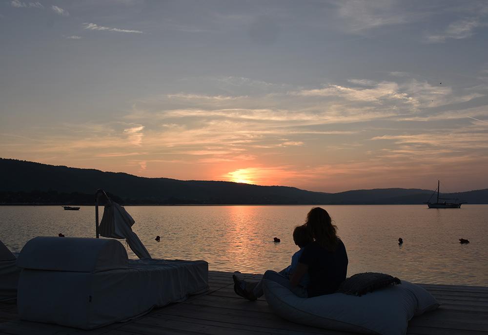 Reisetipps für Chalkidiki wunderbarer Sonnenuntergang