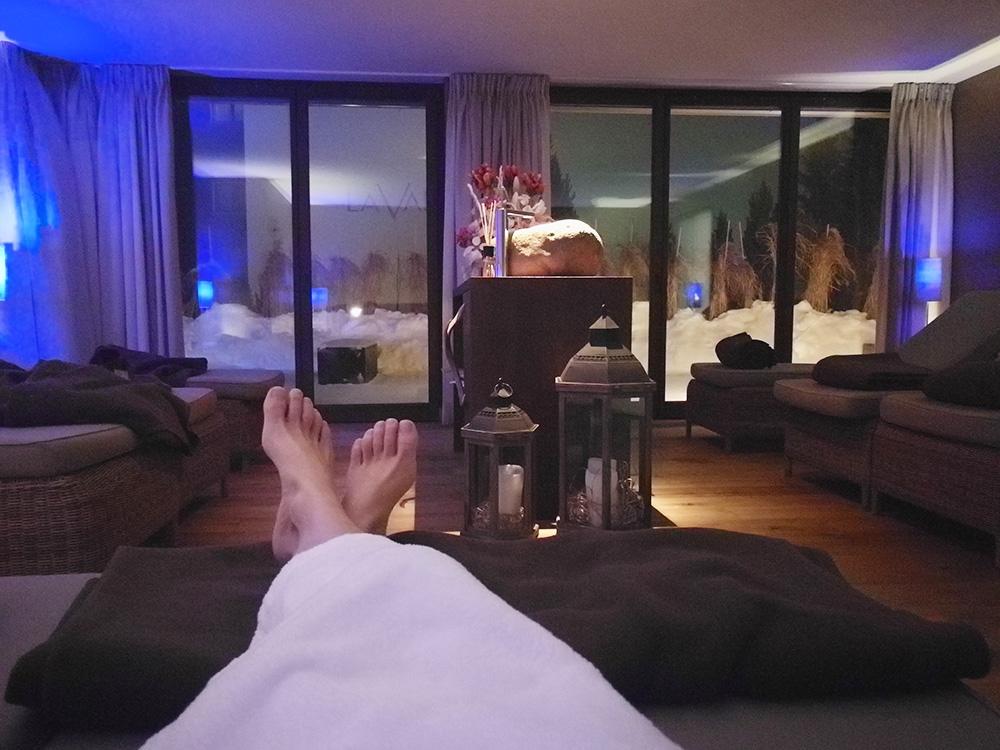 Bergspa Hotel LA VAL Hoteltipp für Brigels Ruheraum im Bergspa