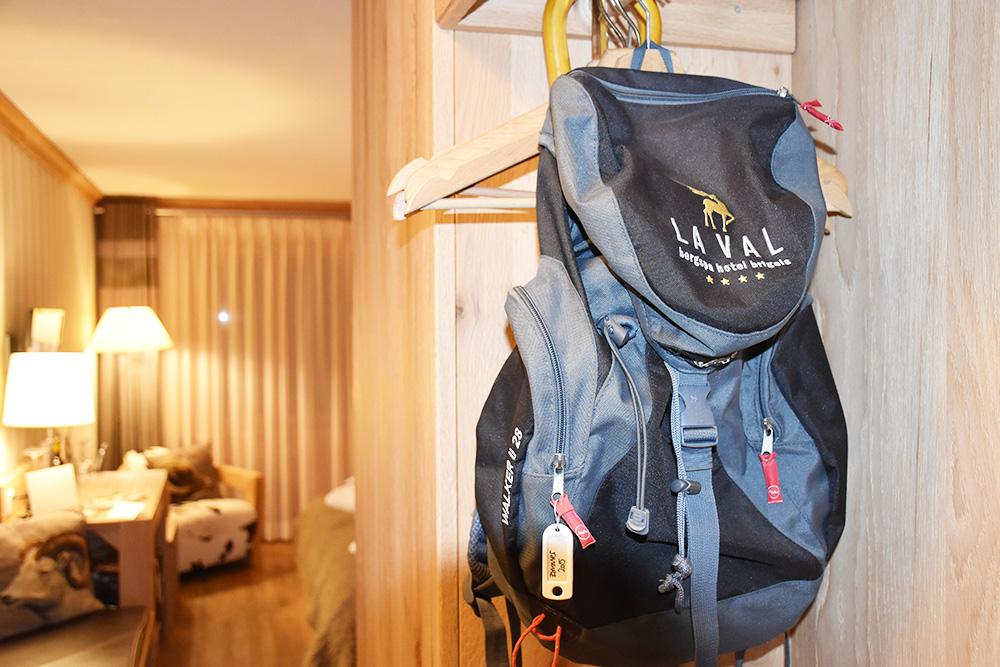 Bergspa Hotel LA VAL Hoteltipp für Brigels Wanderrucksack