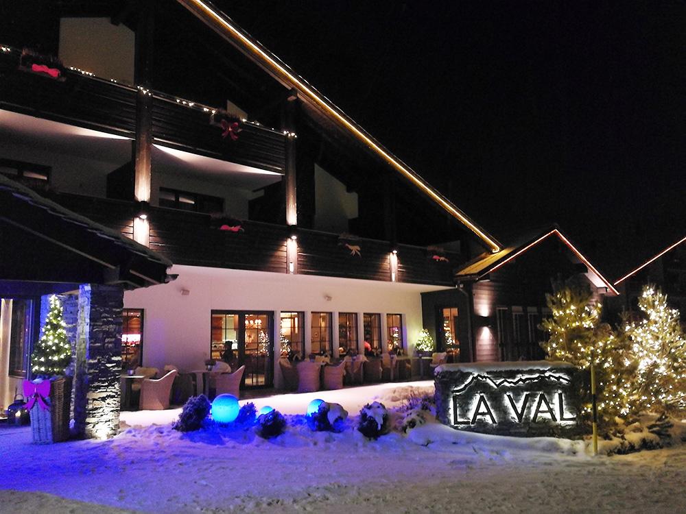 Bergspa Hotel LA VAL Hoteltipp für Brigels Winterstimmung