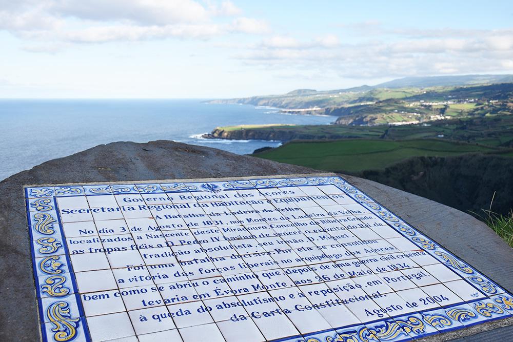 São Miguel Azoren Reisetipps Miradouro de Santa Iria