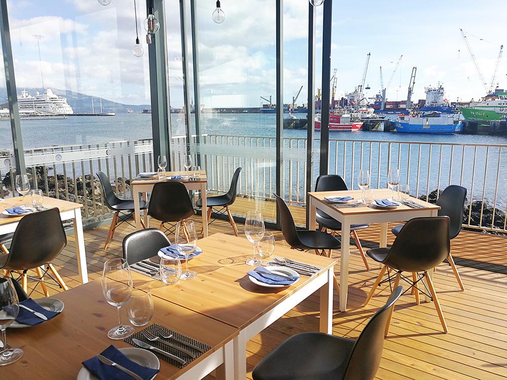 São Miguel Azoren Reisetipps Restaurant Cais da Sardinha in Ponta Delgada