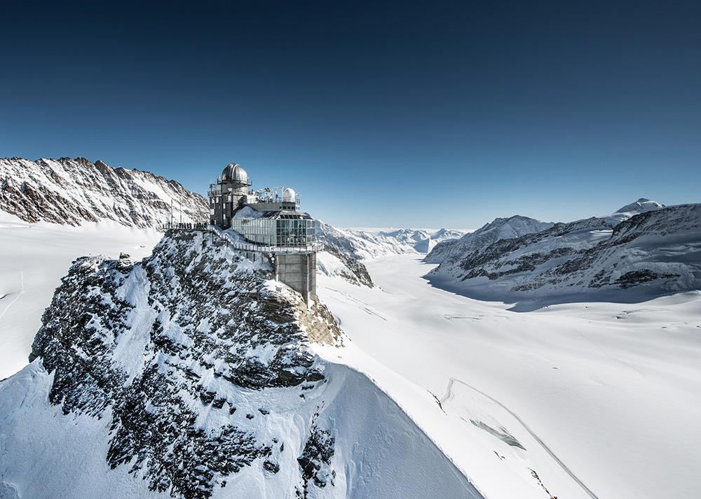 Reisetipps Wengen unterwegs mit Jack Daniel's Jungfraujoch Top of Europe