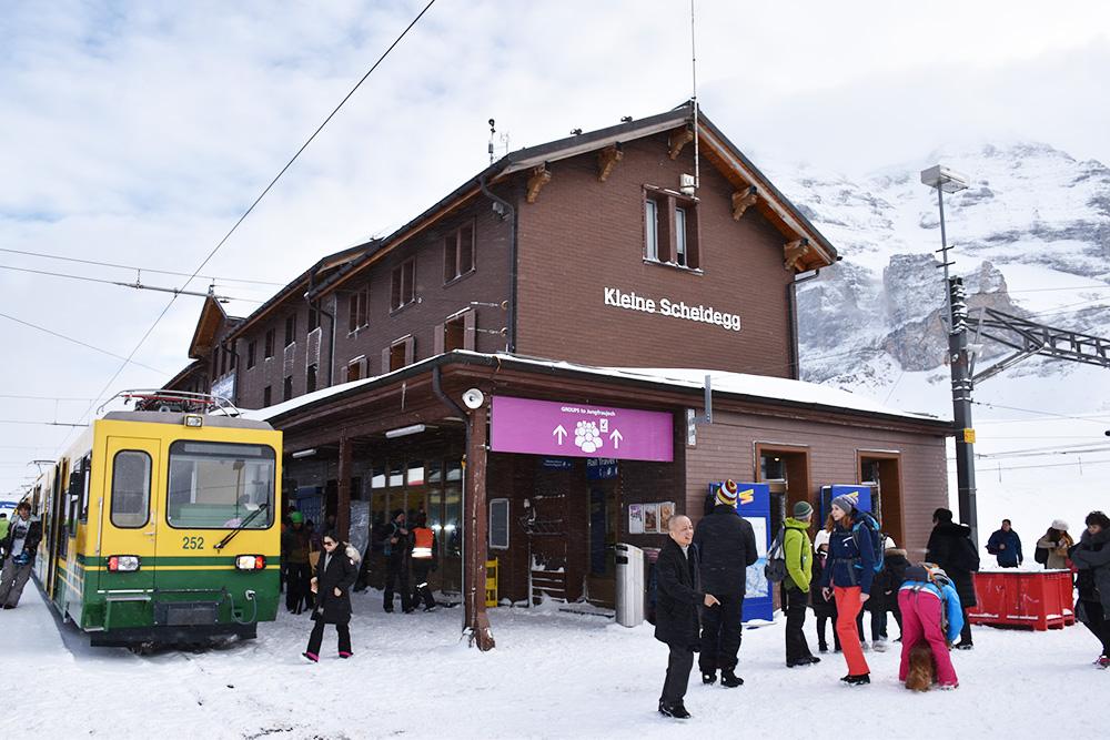 Reisetipps Wengen unterwegs mit Jack Daniel's Kleine Scheidegg