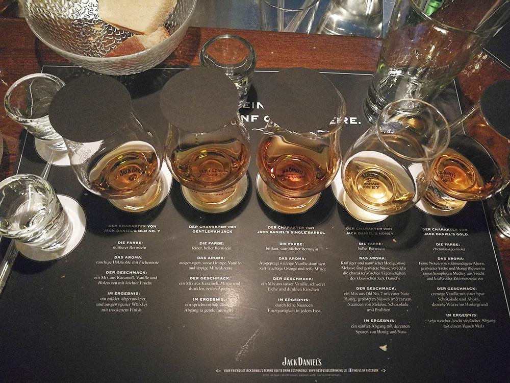 Reisetipps Wengen unterwegs mit Jack Daniel's Whiskey Degustation in der Tanne Bar