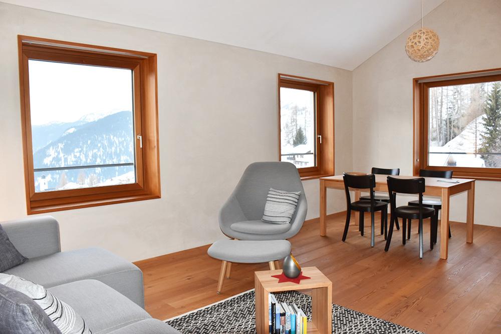 Hoteltipp Mathon Graubünden Schweiz Lodge Suite