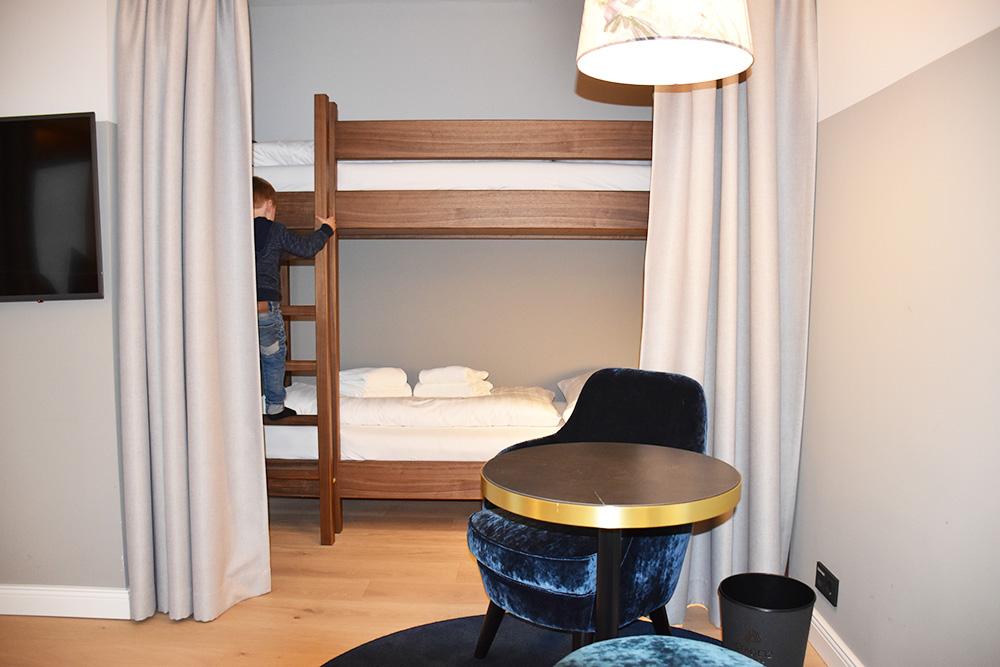Hoteltipp Innsbruck STAGE12 Hotel by Penz Stockbett im Familienzimmer