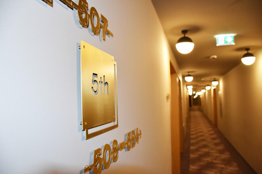 Hoteltipp Innsbruck STAGE12 Hotel by Penz Zimmerbeschriftung