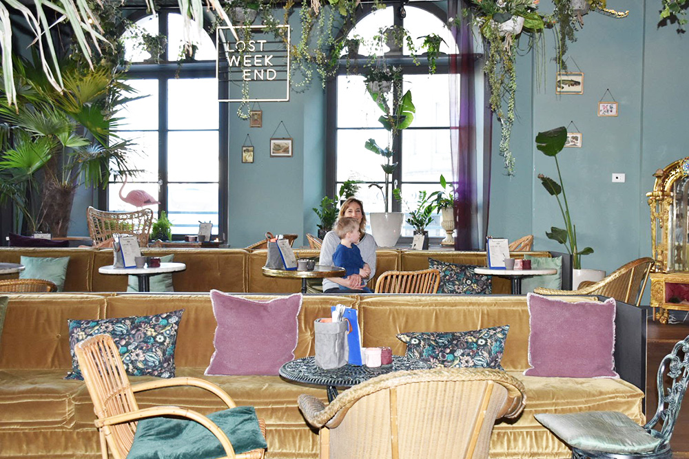 Hoteltipp München 25hours Hotel The Royal Bavarian Café