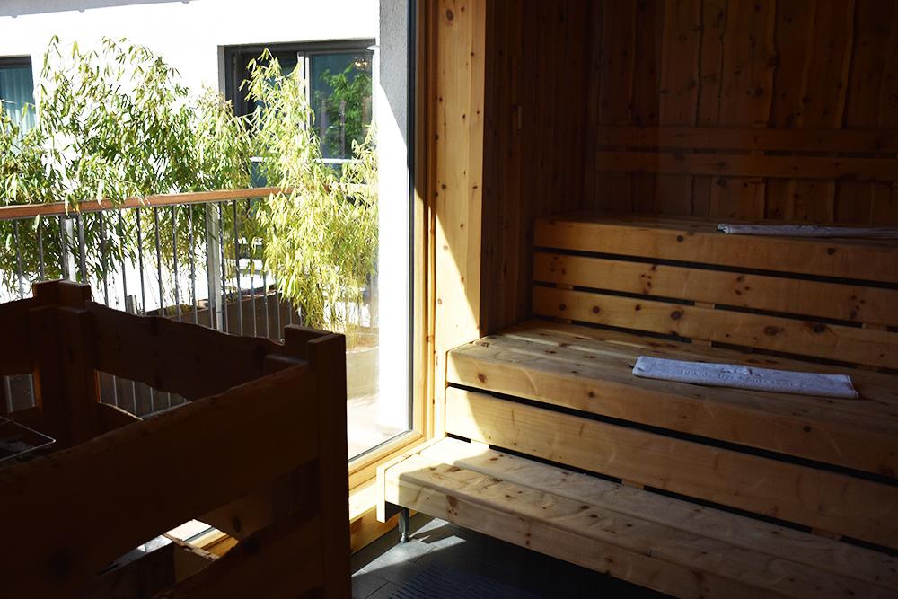 Hoteltipp München 25hours Hotel The Royal Bavarian Sauna mit Aussicht