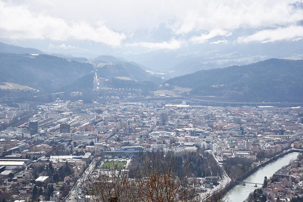 Reisetipps Innsbruck Ausblick von der Hungerburg