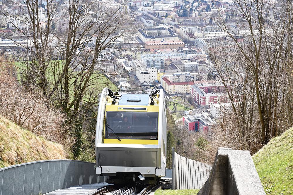 Reisetipps für Innsbruck Hungerburgbahn
