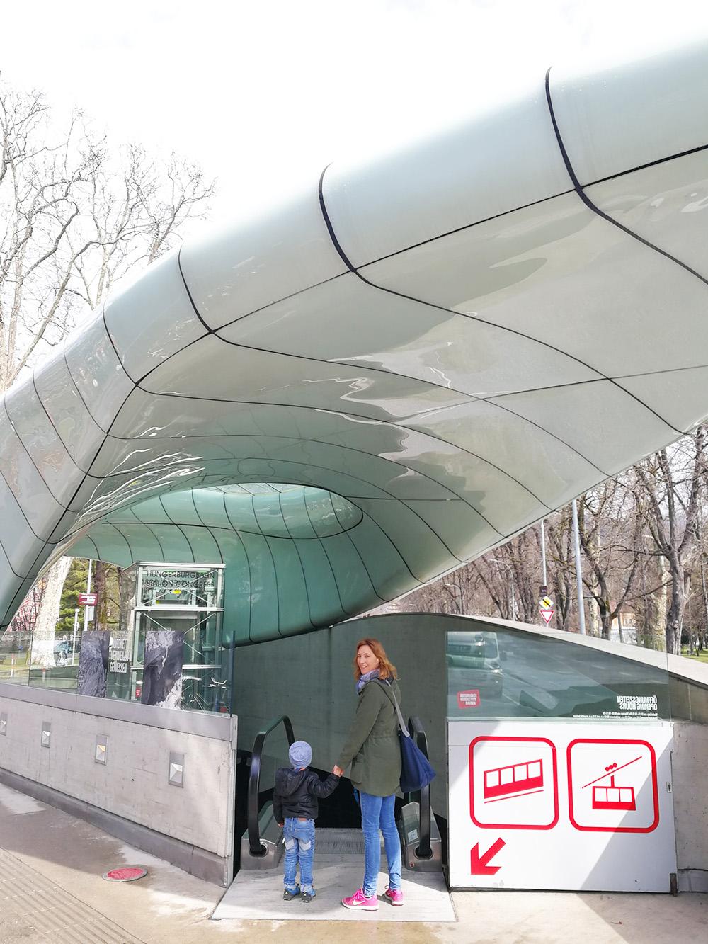 Reisetipps für Innsbruck Station der Hungerburgbahn