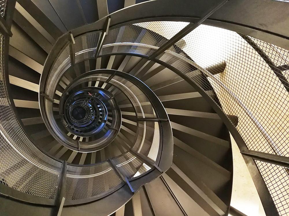 Reisetipps für Innsbruck Treppe auf den Stadtturm