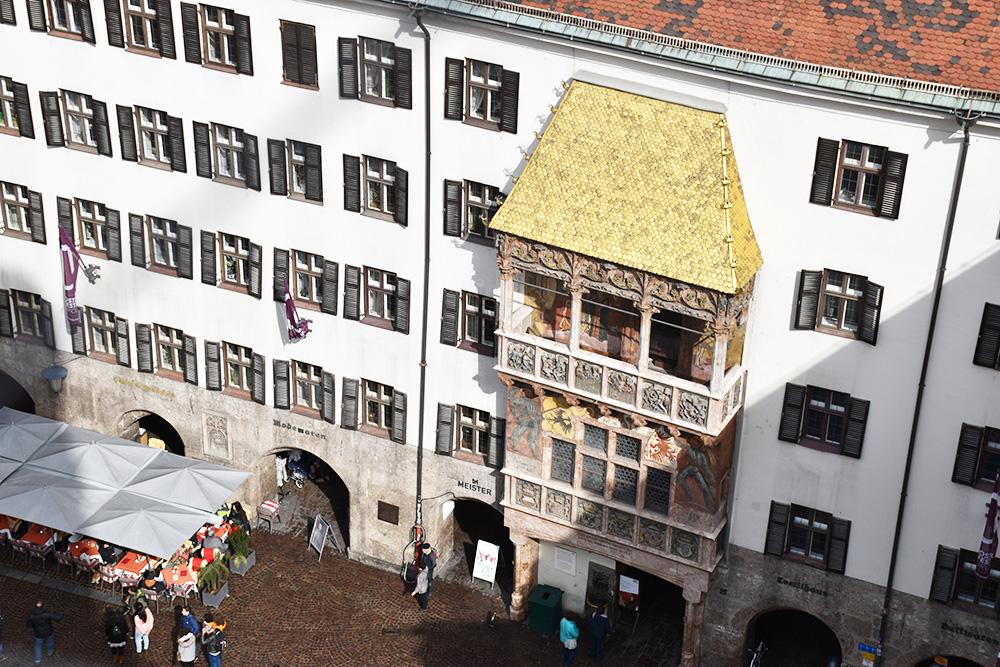 Reisetipps für Innsbruck das Goldene Dachl