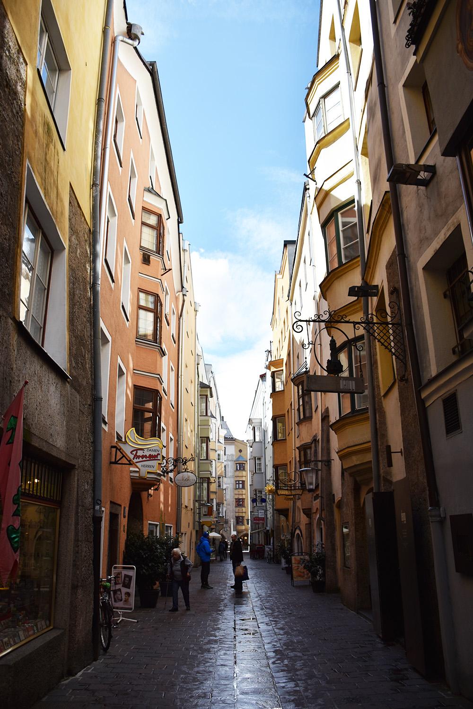 Reisetipps für Innsbruck durch die Altstadt schlendern