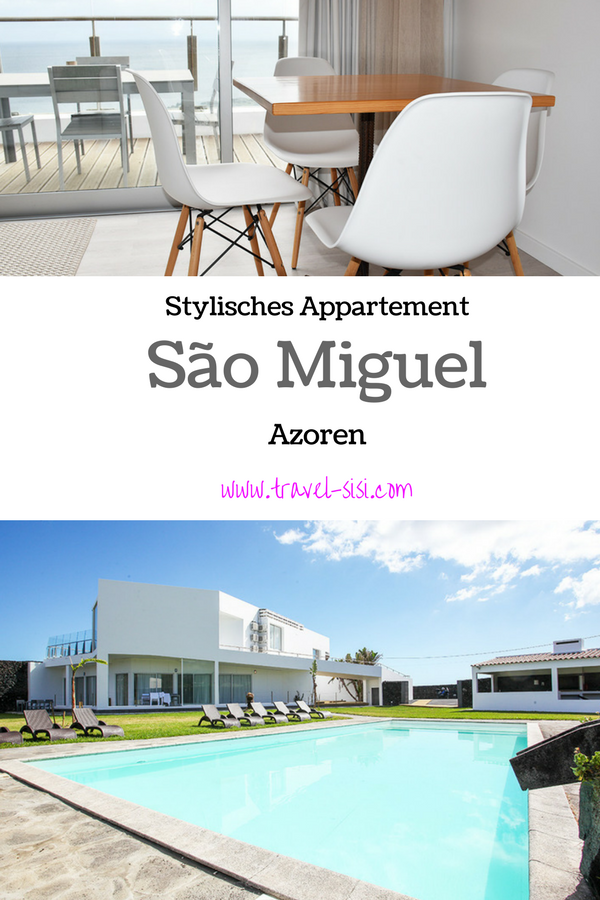 Stylisches Appartement São Miguel, Azoren