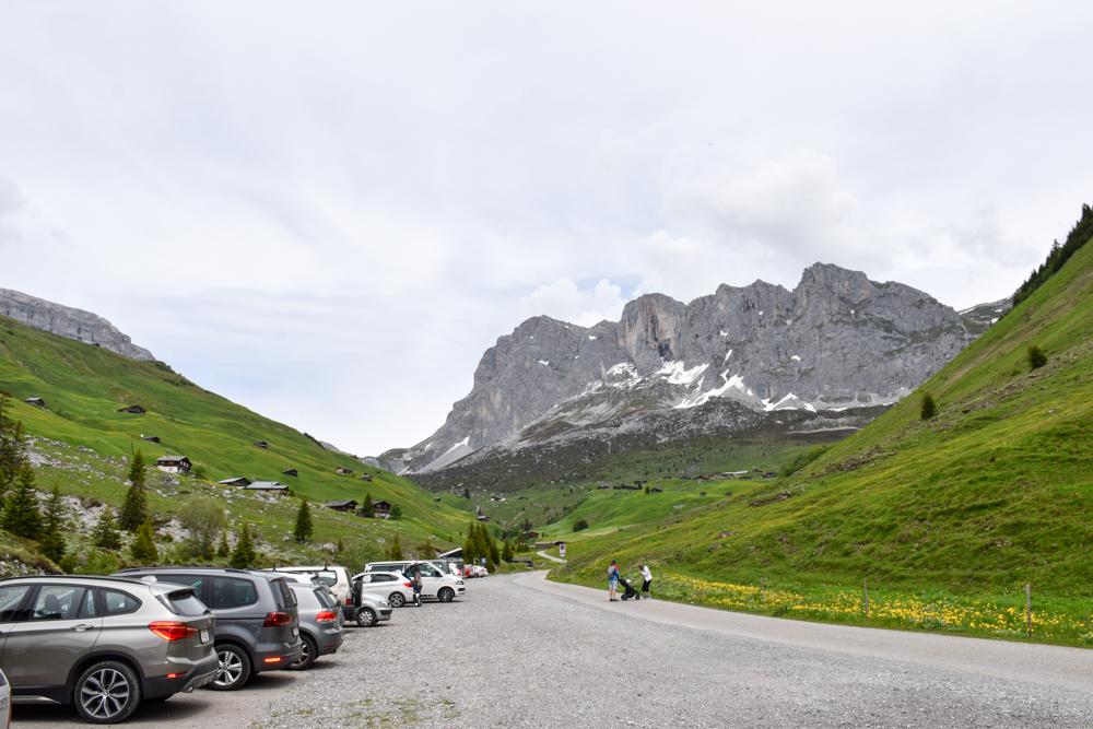 Ausflugstipp im Prättigau Wanderung zum Partnunsee Parkplatz Nr. 6