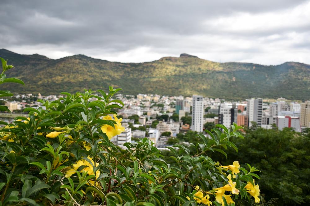 Sehenswürdigkeiten Mauritius meine 10 Highlights Aussicht auf Port Louis von der Zitadelle