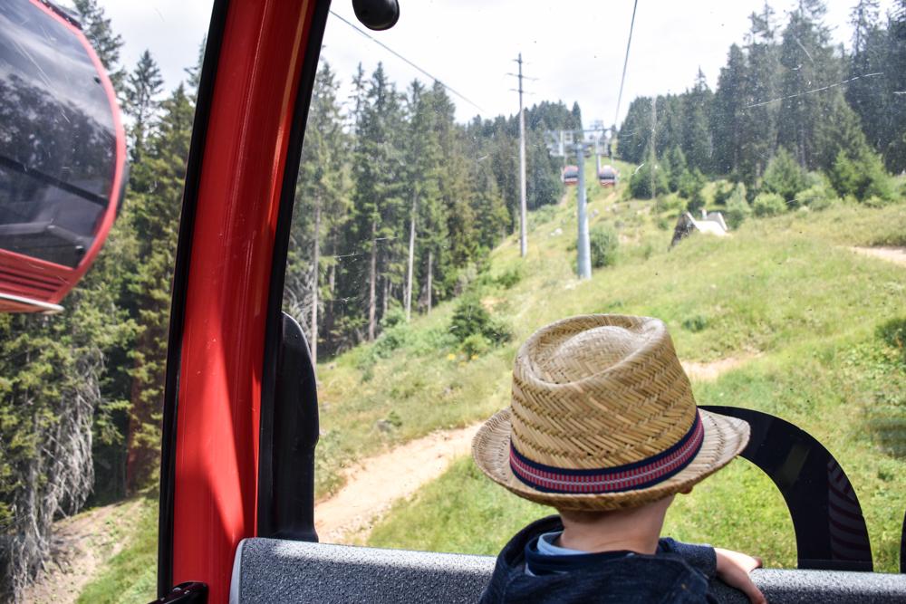 Familienwochenende in der Lenzerheide Sternennacht Fahrt mit der Rothornbahn